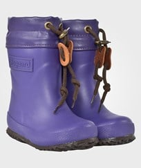 Bisgaard Rubber Boot Wool Purple Purple