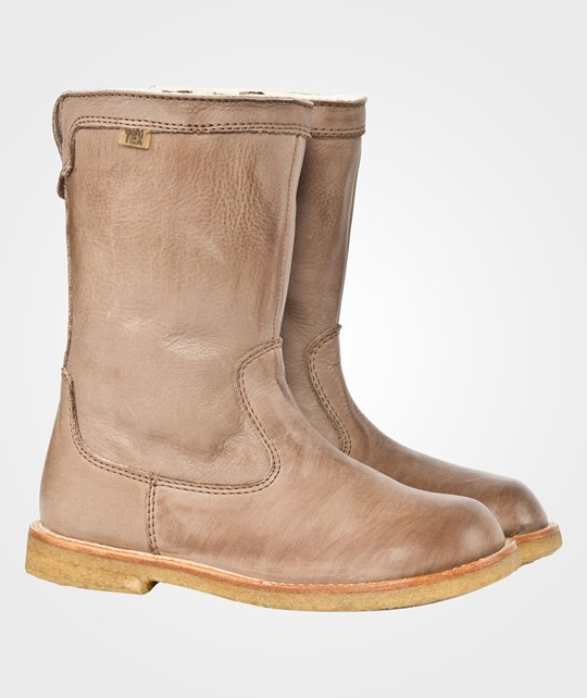 Bisgaard Boots Kids Nougat BROWN