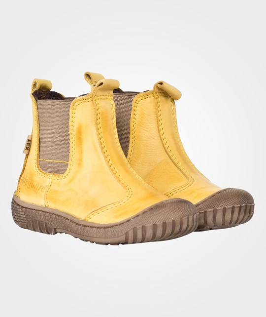 Bisgaard Boots Short Yellow Yellow