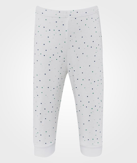 Livly Star Print Pants White/Blue/Green Star Blue