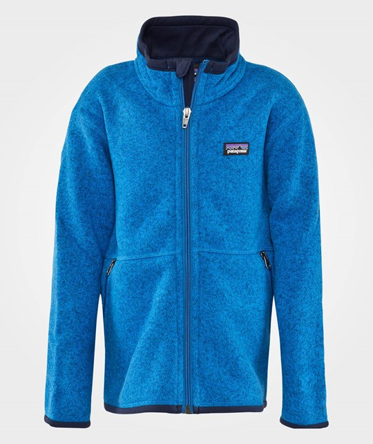 Patagonia B´S BETTER SWEAT JKT Andes blue Blue