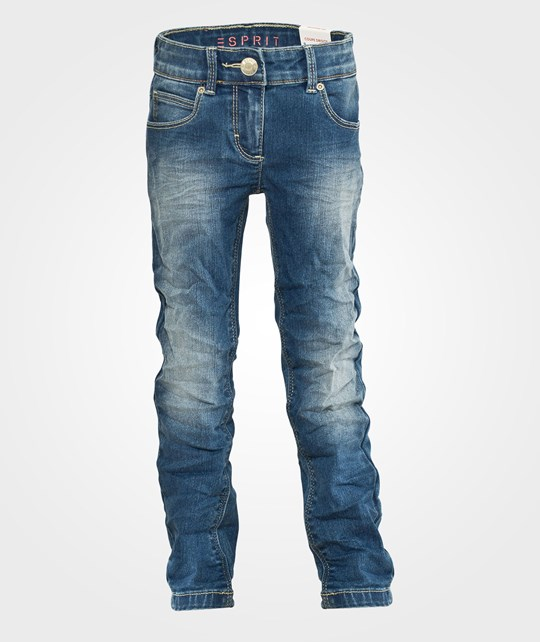 Esprit Pants Denim E Dark Denim Blue
