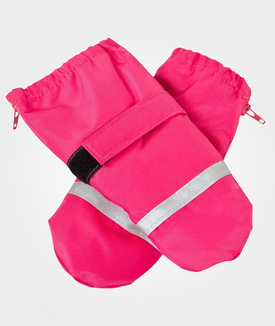Mikk-Line Mittens Coated Baby Pink Pink
