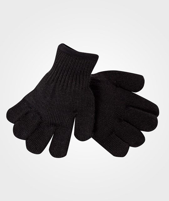 Reima Gloves, Qamra Black Black