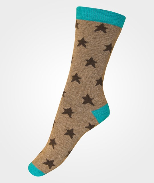 Melton Sock Stars Cyanin Blue