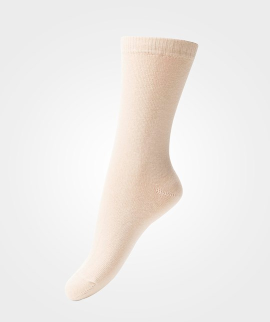 Melton Basic Sock Offwhite White