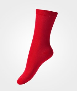 Melton Basic Sock Red