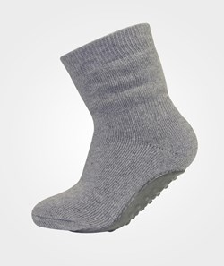 Melton ABS Sock Basic W/Full ABS Light Grey Melange