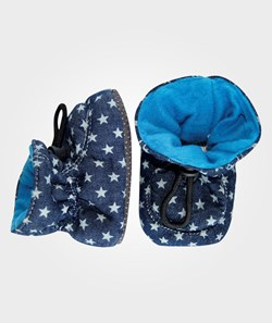 Melton Booties Cotton Stars Hawaiin Ocean