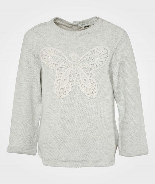Mexx Mini Girls Sweatshirt Sweat Paper Melange Multi
