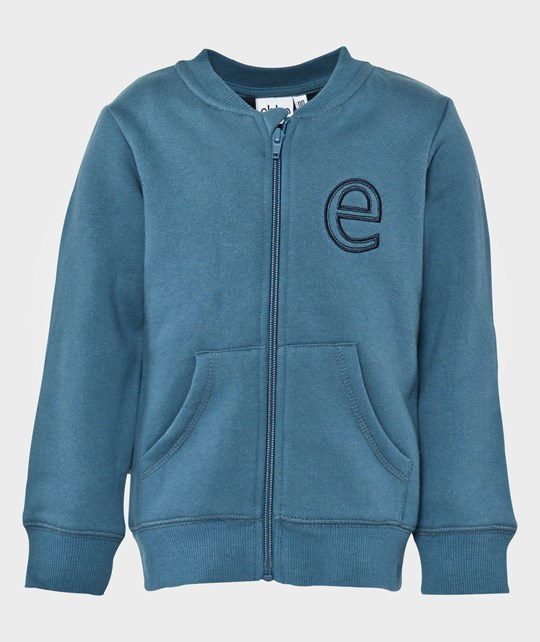 ebbe Kids Key Sweat Jacket Without Hood Steelblue Blue