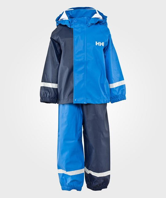 Helly Hansen K New Voss Rain Set Cobalt Blue