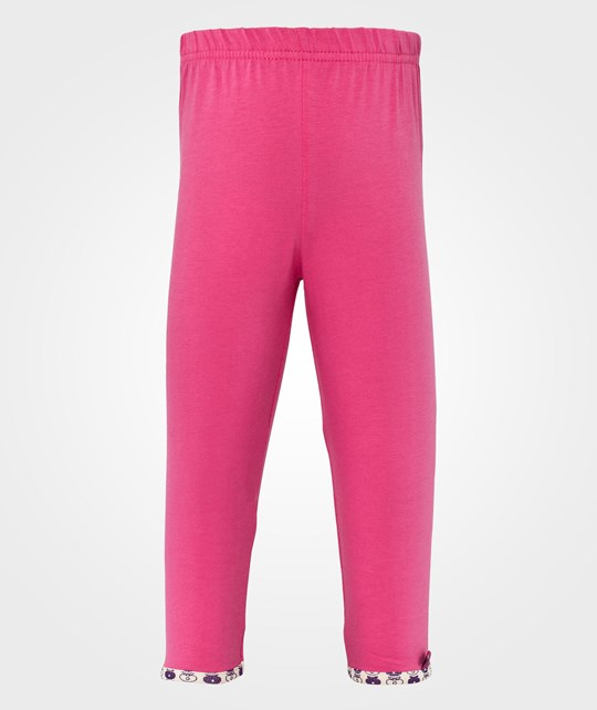 Småfolk Baby Leggins. Ribbed Pink Pink