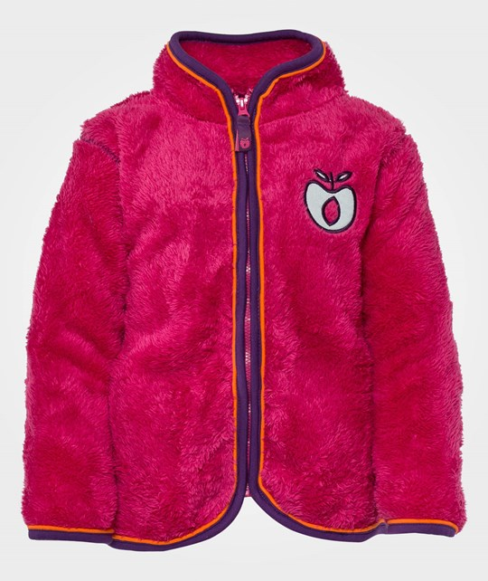 Småfolk Fleece zipper Pink Pink