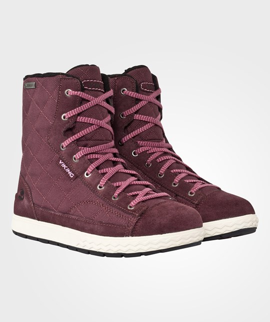 Viking Zip Gtx Burgundy Red