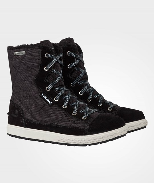 Viking Zip Gtx Black/Grey Black