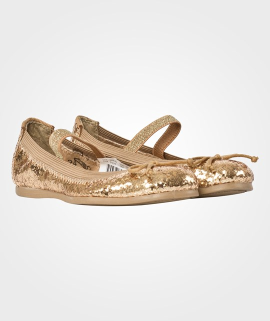 Move Girls Glitter Ballerina Gold Gold