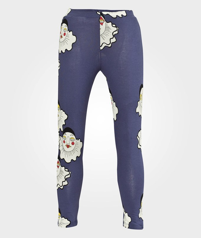 Pierrot Aop Leggings, Purple