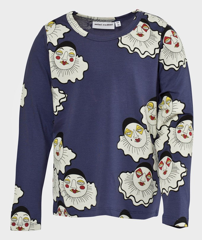 Pierrot Aop Ls Tee, Purple