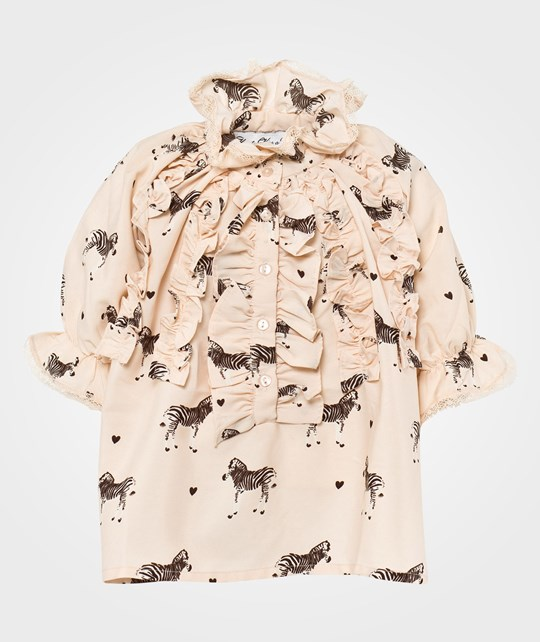 How To Kiss A Frog Mimosa blouse Beige Beige