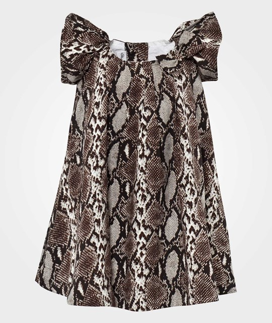 How To Kiss A Frog Mirabelle dress Snake Black