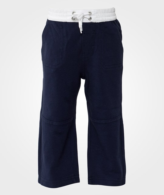 Ralph Lauren Knit Pull On Pants Newport Navy Blue
