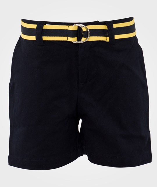 Ralph Lauren Prospect Short W Belt Chino Navy Blue