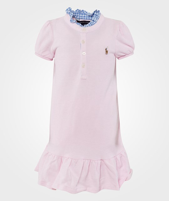 Ralph Lauren SS Polo Dress Carmel Pink Rosa Pink