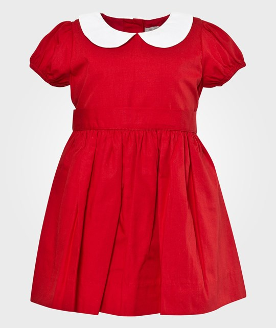 Livly Paige Mini Dress Snow White/Red Red