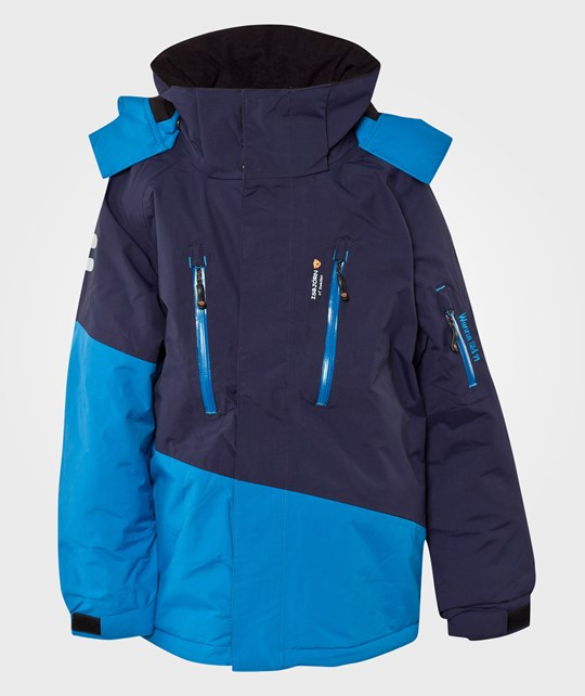 Isbjörn Of Sweden Backflip Jacket Navy Blue/Blue Blue