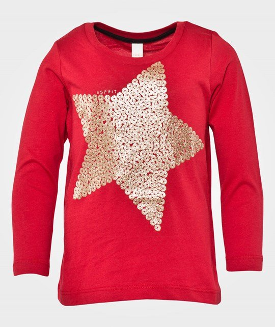 Esprit T-Shirts Juice Red Red