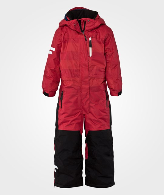 Lindberg CERVINIA OVERALL, RED/RED Red