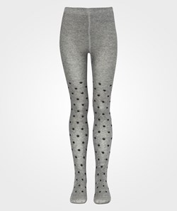 Wheat Tights Dots Charcoal