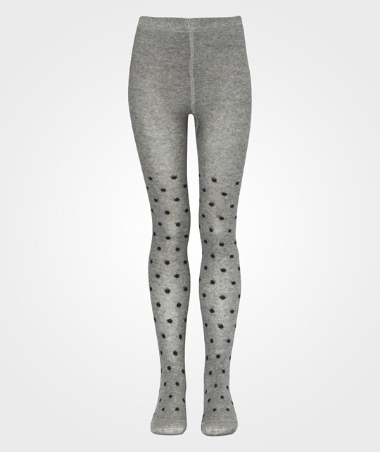 Wheat Tights Dots Charcoal Musta