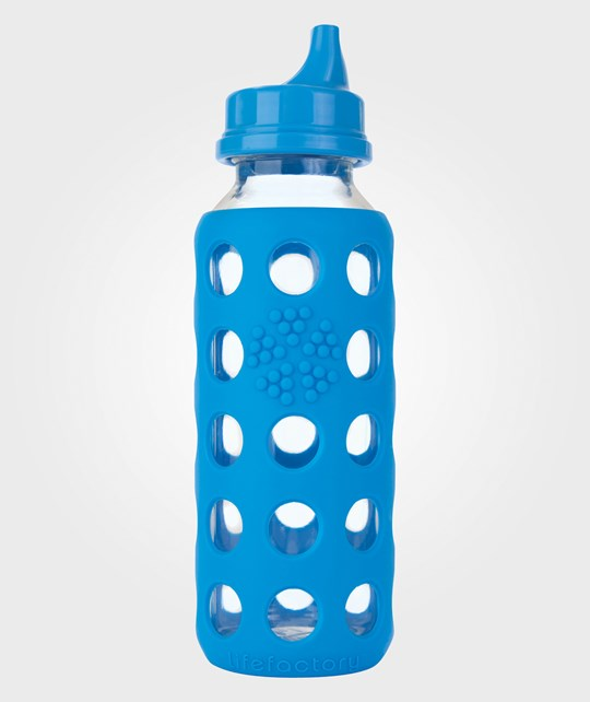 lifefactory Sippy Bottle 250 ML Ocean/Blue Multi