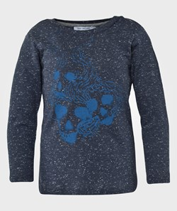 One We Like One Ls Sculls Navy Dot