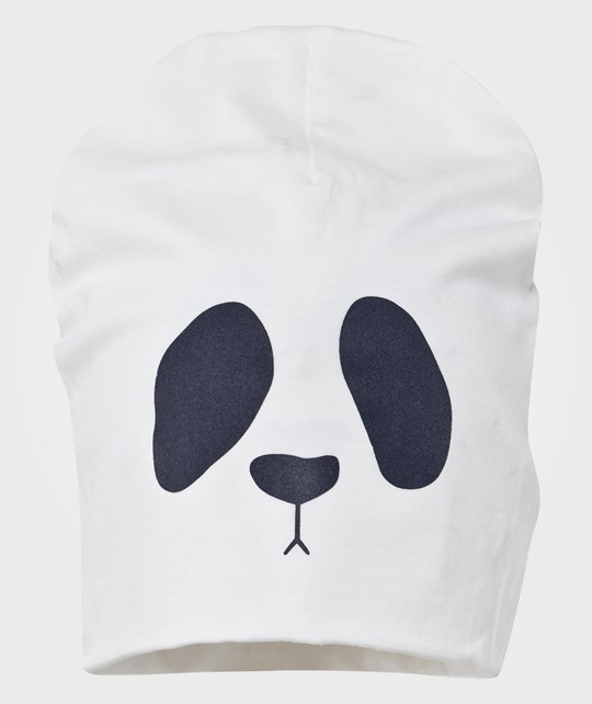 Mini Rodini Panda Sp Rev. Beanie White White