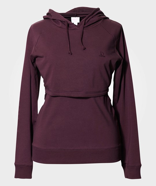 Boob B·Warmer hoodie Mullberry Red Red