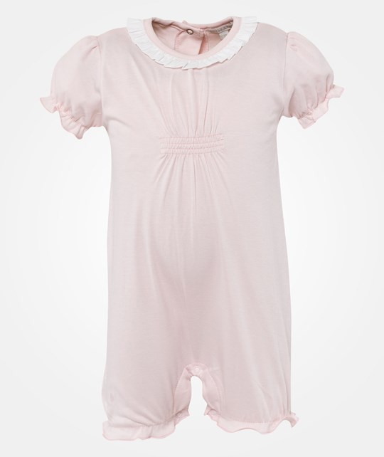 Livly Simone Jumpsuit Baby Pink Square Pink