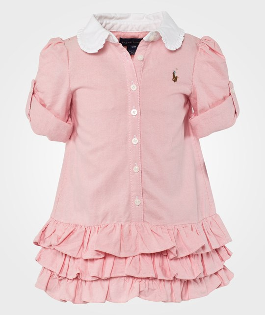 Ralph Lauren Shirtdress Bsr Pink Multi Pink