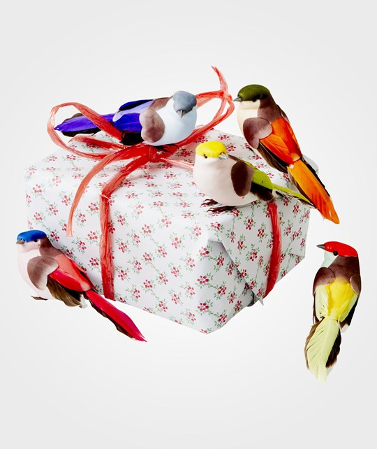 Rice Large Gift Wrapping Deco Birds 5 Multi