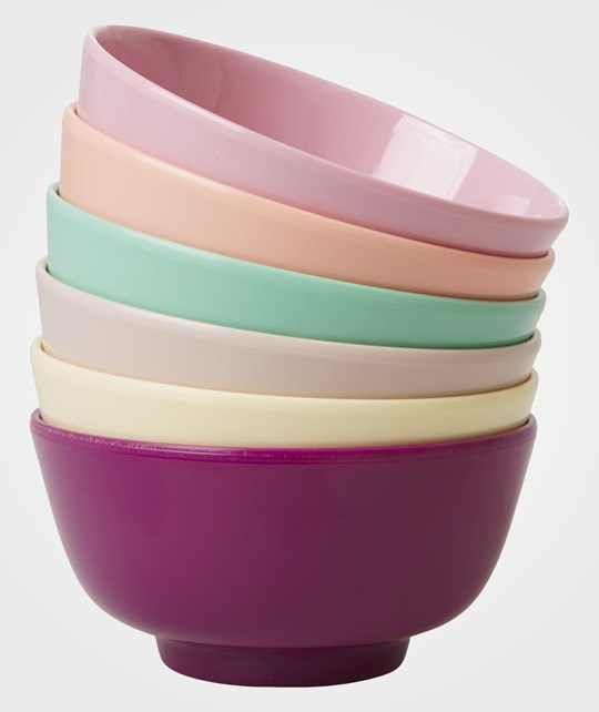 Rice 6 S Melamine Dipping Bowls Awesom Multi