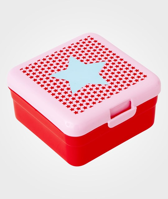 Rice Kids Small Lunch Box Girl Star Red