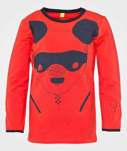 Ígló & Indí Dui Bear Mask Top Red