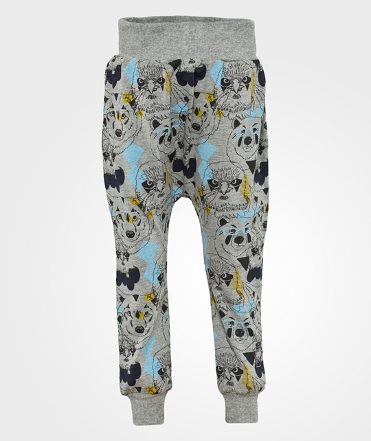 Ígló & Indí Emil Bear Eagle Wolf Pants Multi