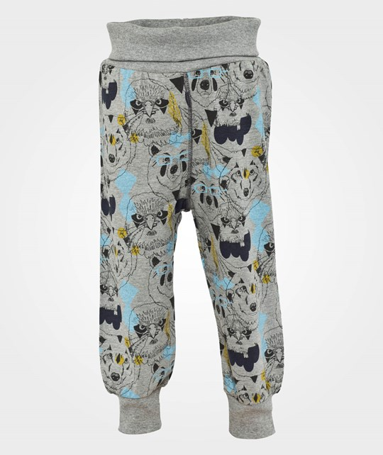 Ígló & Indí Hugi Bear Eagle Wolf Pants Multi