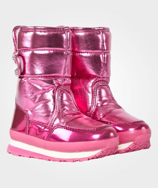 Rubber Duck Classic Kids Snow Jogger Metallic Neon Pink Pink