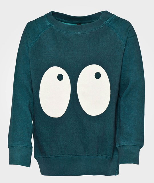 Shampoodle Ghost Sweater Teal Green Green
