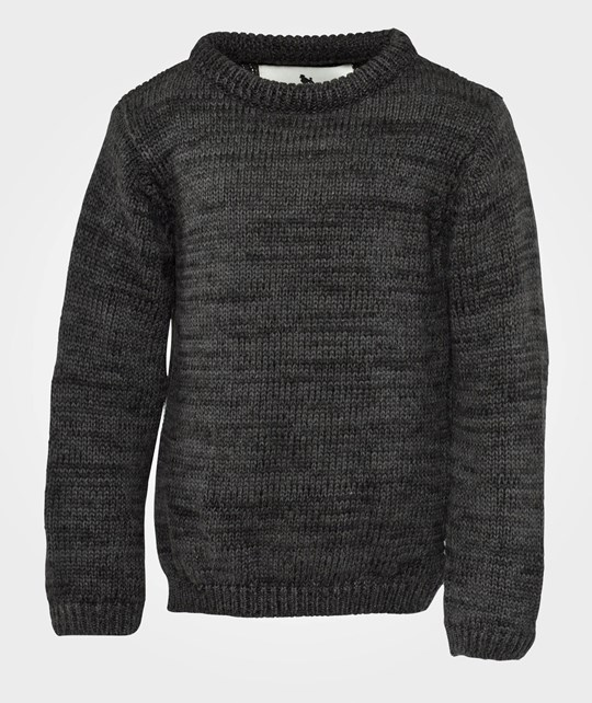 Shampoodle Home Sweater Antracit Grey Sort