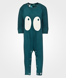 Shampoodle Ghost Romper Teal Green